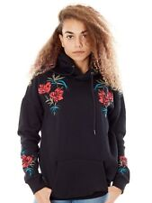 Volcom Black Burned Down Womens Hoody