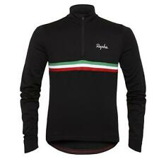 Rapha Long Sleeve Country Cycling Jersey Italy Black Size Large BNWT  * RARE *