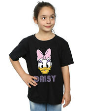 Disney niñas Daisy Duck Face Camiseta