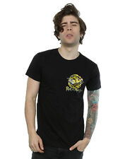 Absolute Cult hombre Rick And Morty Portal Faux Pocket Camiseta