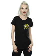Absolute Cult mujer Rick And Morty Portal Faux Pocket Camiseta