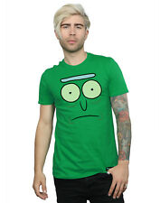 Absolute Cult hombre Rick And Morty Pickle Rick Face Camiseta