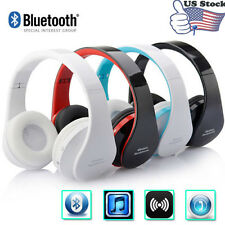 Wireless Bluetooth pieghevole cuffie stereo cuffia auricolare per iPhone Samsung