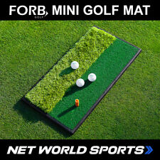 FORB Launch Pad | THE ULTIMATE MINI GOLF MAT - Choice of Fairway or Dual Sided