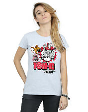 Tom And Jerry mujer Tomic Energy Camiseta