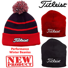 TITLEIST GOLF WINTER HATS BEANIE OR BOBBLE HAT **NEW** TITLEIST HAT GOLF BEANIE