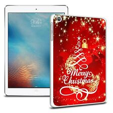 NATALE CUSTODIA COVER resistente per vari APPLE IPAD TABLET - Design 12