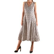 30797 TWIN-SET SIMONA BARBIERI VESTITO DONNA GRIGIO WOMEN'S GRAY DRESS