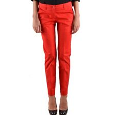 30779 ARMANI JEANS PANTALONI DONNA ROSSO WOMEN'S RED TROUSERS