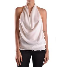 18882 PATRIZIA PEPE TOP DONNA BIANCO WOMEN'S WHITE TOP