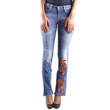 29967 MELTIN'POT PANTALONI JEANS DONNA BLU WOMEN'S BLUE JEANS PANTS