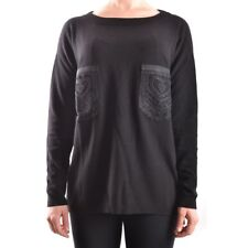 29727 TWIN-SET SIMONA BARBIERI MAGLIONE DONNA NERO WOMEN'S BLACK SWEATER