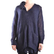 29726 TWIN-SET SIMONA BARBIERI CARDIGAN DONNA BLU WOMEN'S BLUE CARDIGAN