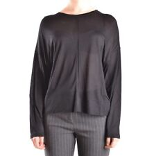 29668 DONDUP T-SHIRT MANICA LUNGA DONNA NERO WOMEN'S BLACK LONG SLEEVES T-SHIRT