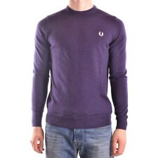 29583 FRED PERRY MAGLIONE UOMO VIOLA WOMEN'S VIOLET SWEATER