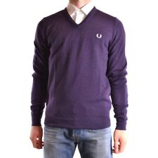29582 FRED PERRY MAGLIONE UOMO VIOLA WOMEN'S VIOLET SWEATER
