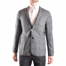 z586 AT.P.CO GIACCA GRIGIA LANA UOMO MEN'S WOOL GRAY JACKET