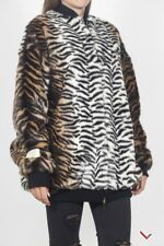 vr963 STELLA MCCARTNEY GIUBBOTTO LEOPARDATO DONNA WOMEN'S LEOPARD JACKET