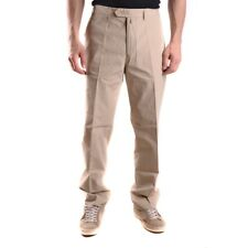z1015 GANT PANTALONI BEIGE COTONE UOMO MEN'S COTTON TROUSERS