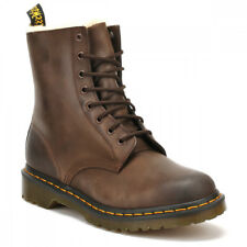 Dr. Martens Womens Dark Brown Burnished Wyoming Serena Boots