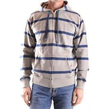 z1453 TOMMY HILFIGER DENIM FELPA GRIGIA COTONE UOMO MEN'S COTTON GRAY SWEATSHIRT