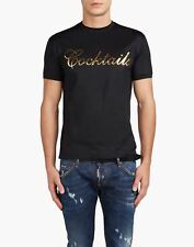 bn761 DSQUARED T-SHIRT NERO UOMO MEN'S BLACK T-SHIRT