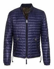 bn394 DUVETICA GIUBBOTTO BLU UOMO MEN'S BLUE JACKET
