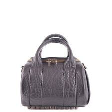 29386 ALEXANDER WANG BORSA A TRACOLLA DONNA NERO WOMEN'S BLACK SHOULDER BAG