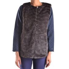28837 SAVE THE DUCK GILET DONNA MARRONE WOMEN'S MARRóN VEST