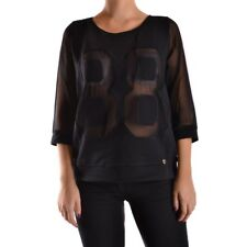 27150 TWIN-SET SIMONA BARBIERI T-SHIRT DONNA NERO WOMEN'S BLACK T-SHIRT