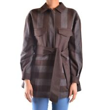 28349 PEUTEREY CAPPOTTO DONNA MARRONE WOMEN'S MARRóN COAT