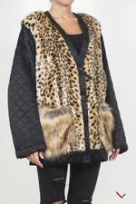 vr216 DRIES VAN NOTEN GIUBBOTTO LEOPARDATO DONNA WOMEN'S LEOPARD JACKET
