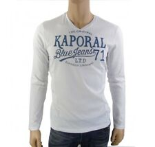 Tee shirt Kaporal homme manches longues BARTZ blanc