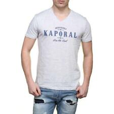 Tee shirt Kaporal manches courtes homme CODY Grey