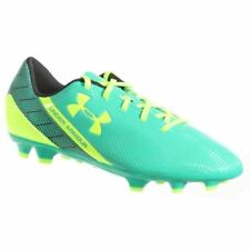 Under Armour FLASH FG moulded junior football boots bright green