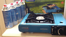 Campingaz BistroPortable Gas Stove plus 4,8, or 12 Campingaz CP250 Gas Cannister