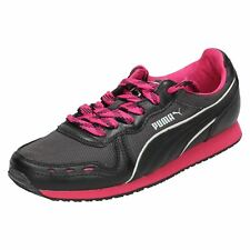 Ladies Puma Casual Lace Up Trainers Cabana Racer
