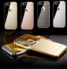 IPhone Luxury Mirror Case iPhone Cover for Apple 7 6+ 6 5c 5 UK SELLER BRAND NEW