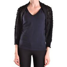 bc24744 GALLIANO MAGLIA CARDIGAN NERO DONNA WOMEN'S BLACK CARDIGAN