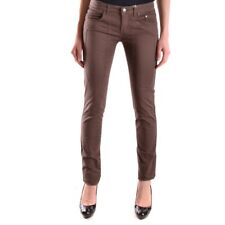 bc24391 JECKERSON JEANS MARRONE DONNA WOMEN'S BROWN JEANS