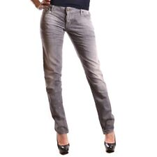 bc24283 DSQUARED JEANS GRIGIO DONNA WOMEN'S GREY JEANS