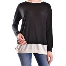 bc24094 LIVIANA CONTI T-SHIRT MANICA LUNGA NERO DONNA WOMEN'S BLACK LONG SLEEVES