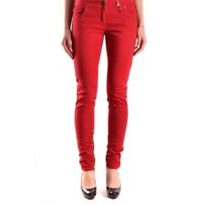 bc23693 ISOLA MARRAS JEANS ROSSO DONNA WOMEN'S RED JEANS