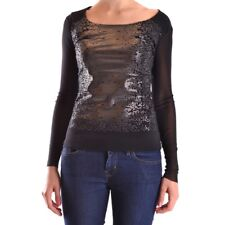 bc23674 DEXTERIOR T-SHIRT MANICA LUNGA NERO DONNA WOMEN'S BLACK LONG SLEEVES T-S