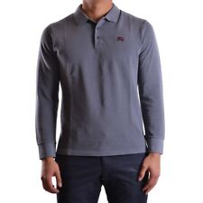 bc17409 BURBERRY POLO GRIGIO UOMO MEN'S GREY POLO