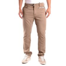 bc19707 DSQUARED PANTALONI MARRONE CHIARO UOMO MEN'S LIGHT BROWN TROUSERS