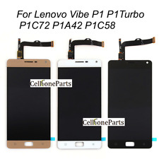 LCD Display With Touch Screen For Lenovo Vibe P1 P1Turbo P1C72 P1A42 P1C58