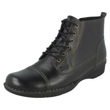 Mujer Clarks Dinero BEAT Botines Casuales