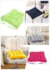 2pcs RD GY BY GG PP Otoño Comedor Patio Silla Asiento Pads Cojin Silla Pad