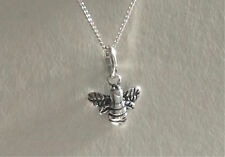 925 Sterling Silver Bumble Bee Necklace or Pendant Gift Present